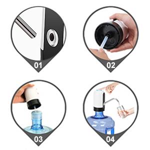 3 gallon water jug pump