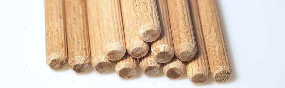 Houten pluggen van beuken, pluggen van hout, pluggen