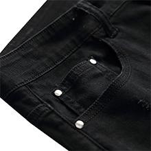 ripped black jeans for men