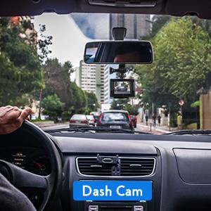 Registrazione in loop e modalità Dash Cam