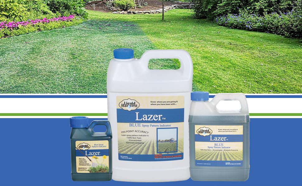 Liquid Harvest Lazer Blue