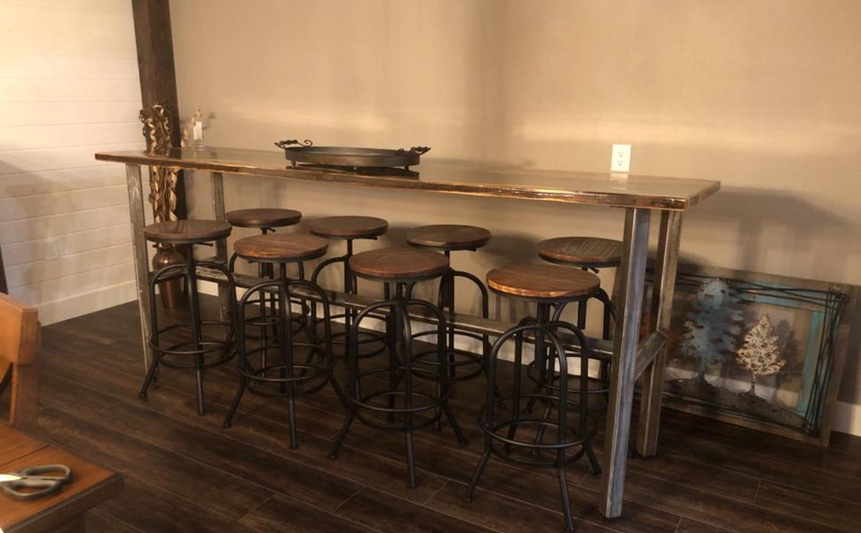 extra tall bar stools