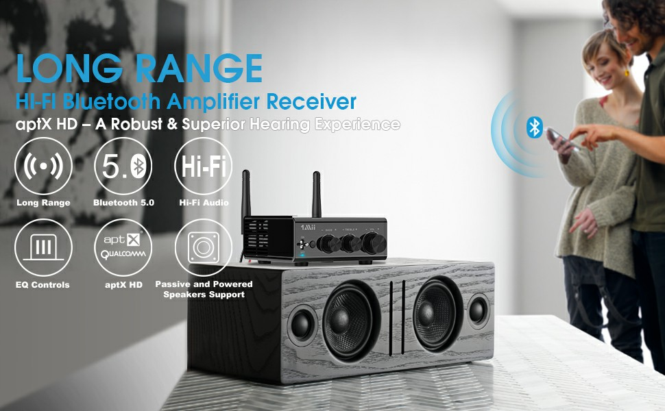 Bluetooth amplifier receiver 2