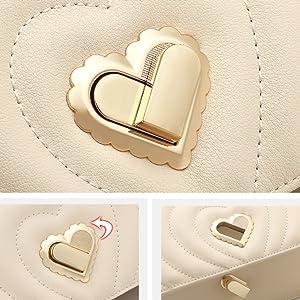 Heart-shape Turn-lock