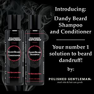 Dandy Beard Shampoo and Conditioner