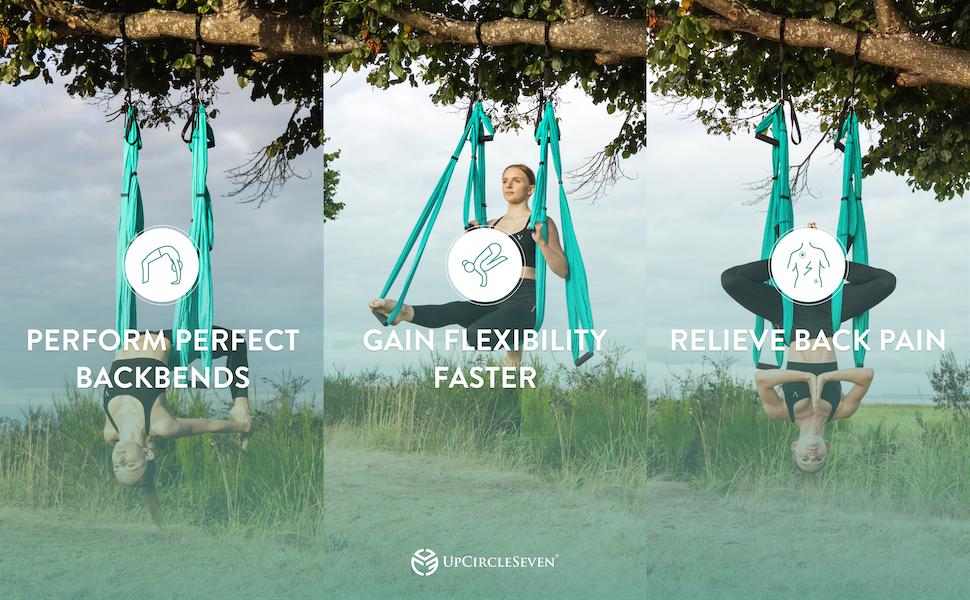 aerial yoga hammock silk