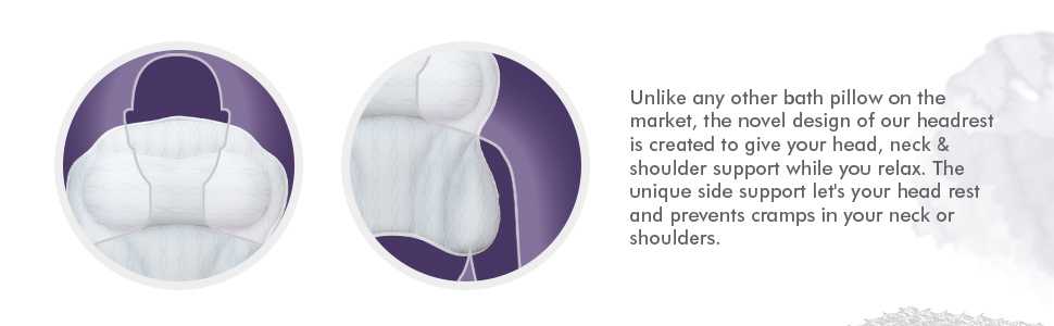 tub pillow for back and head great bathtub accessories for woman