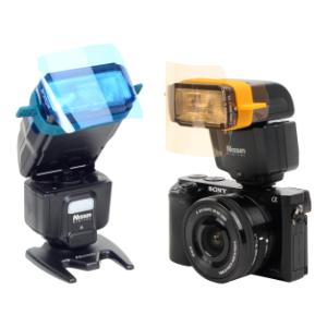 Rogue flash gels, rogue gel band, gel attachment band, mirrorless camera flash gels