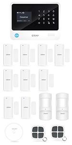 ERAY S2 Alarmas para Casa WiFi+gsm/ 3G+GPRS, Antirrobo ...