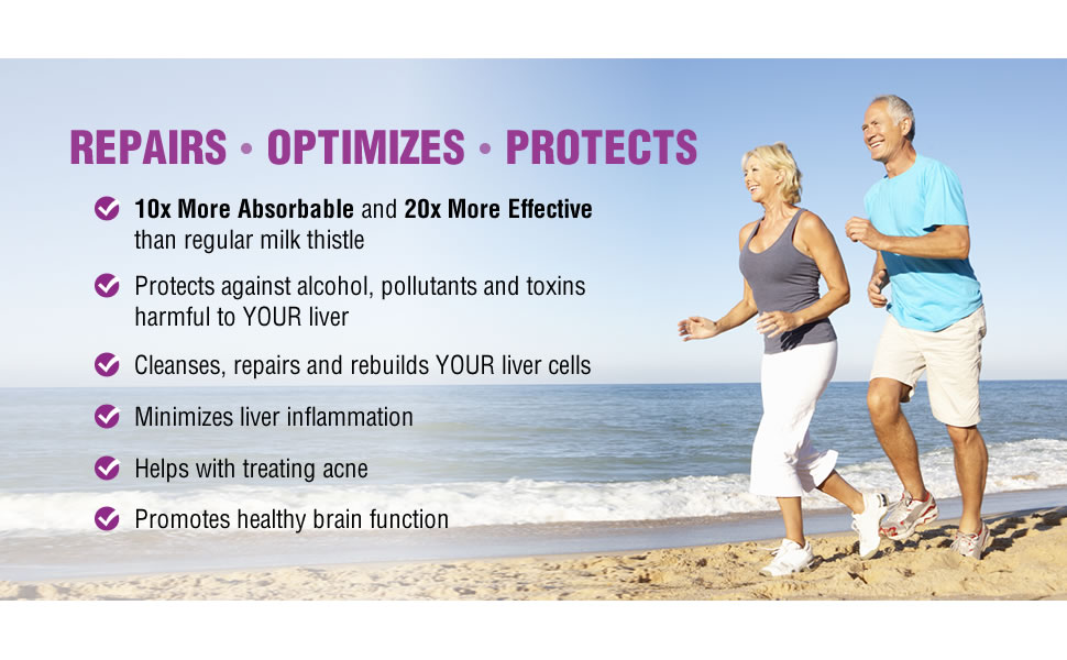natural wellness ultrathistle milk thistle supplements repairs optimizes and protect liver function