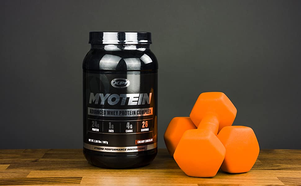 XPI Myotein Whey Protein 2 lbs pounds Isolate Concentrate