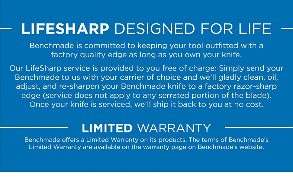 Lifesharp; Designed for life
