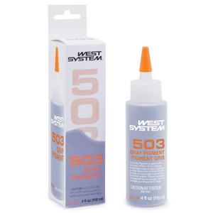 503 Gray Pigment for modifying WEST SYSTEM Epoxy