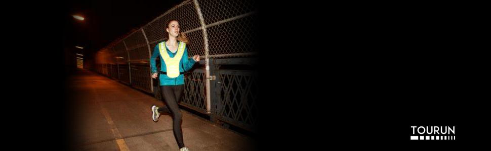 Safety reflective running vest