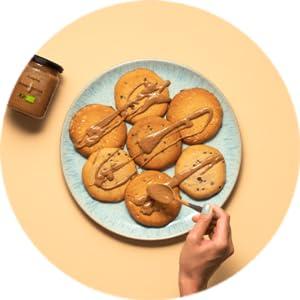 foodspring Cookie Proteica, Pepitas de Chocolate, 12 x 50g ...