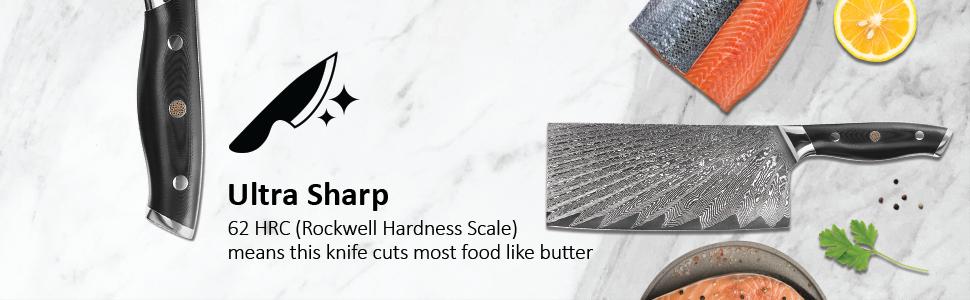 6 8 10 chef knife inch set japanese damascus chef's sharpener case best steel sets knives cleaver
