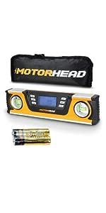 10in level torpedo LCS magnetic bag smart digital audbile angle finer inclinometer gauge backlight
