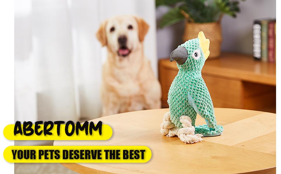Dog plush toys for medium dogs