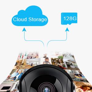 Cloud und SD Karte Schacht