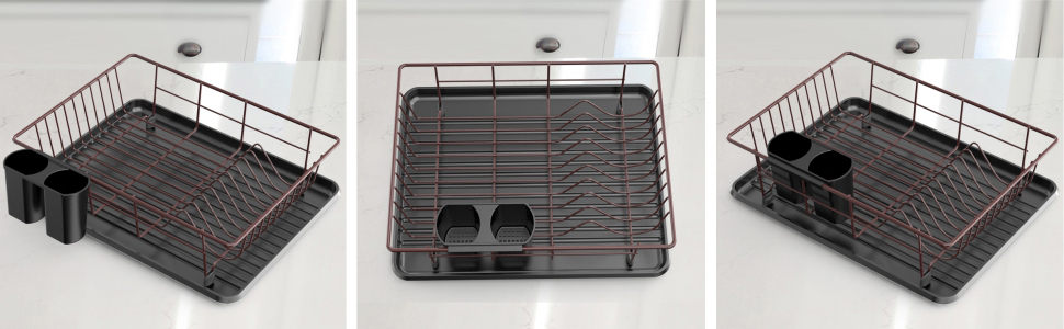 dish drying rack dish drainer with drain board
