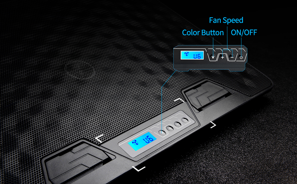 ZYX Notebook Cooler Large Fan Computer Cooler Light and Convenient Silver Aluminum Alloy Panel Computer Stand 800 RPM
