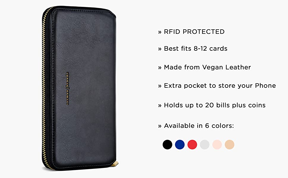 Purse Card Wallet w. Phone Holder
