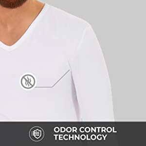 Thermajohn V-Neck Thermal Underwear Shirt
