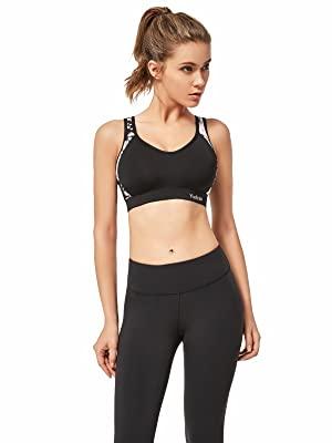 sports bra black
