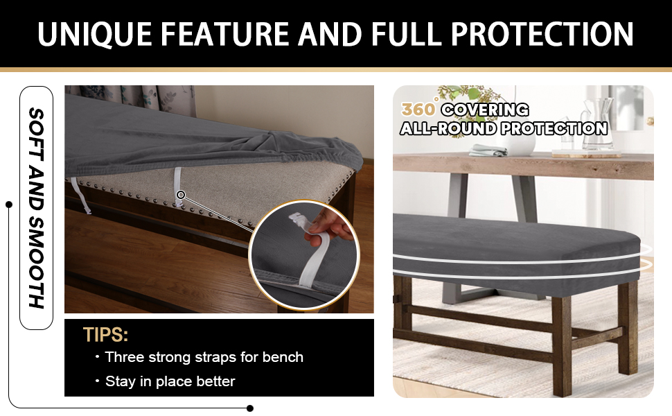 PrinceDeco 1 piece sofa cover/furniture protector covers