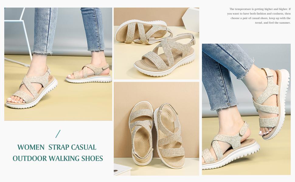 women casual sandals