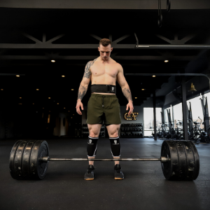 quick locking weight lifting belt snatch crossfit gym wod fit rogue strong dark rip iron fittest man