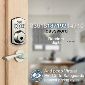 fingerprint deadbolt lock
