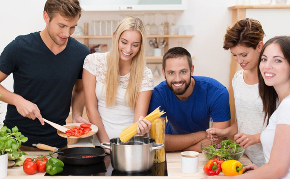 Enjoy cooking time with your family