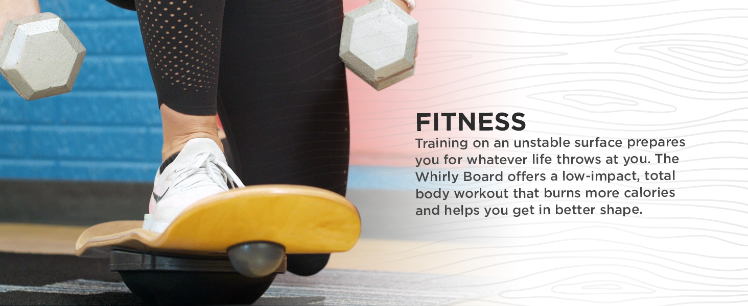 balance board for fitness