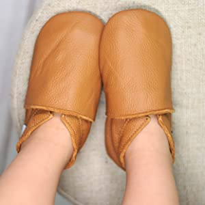 baby moccasin shoes leather slippers