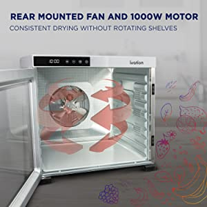 Rear mounted fan