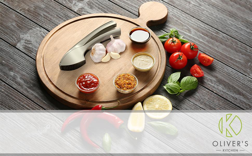 Oliver's Kitchen prensa de ajo