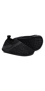 Toddler Boys Girls Rubber Sole House Slippers