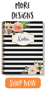 """softcover, spiral notebook, 8.5"""" x 11"""", notes"""