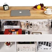 white coffee table desk