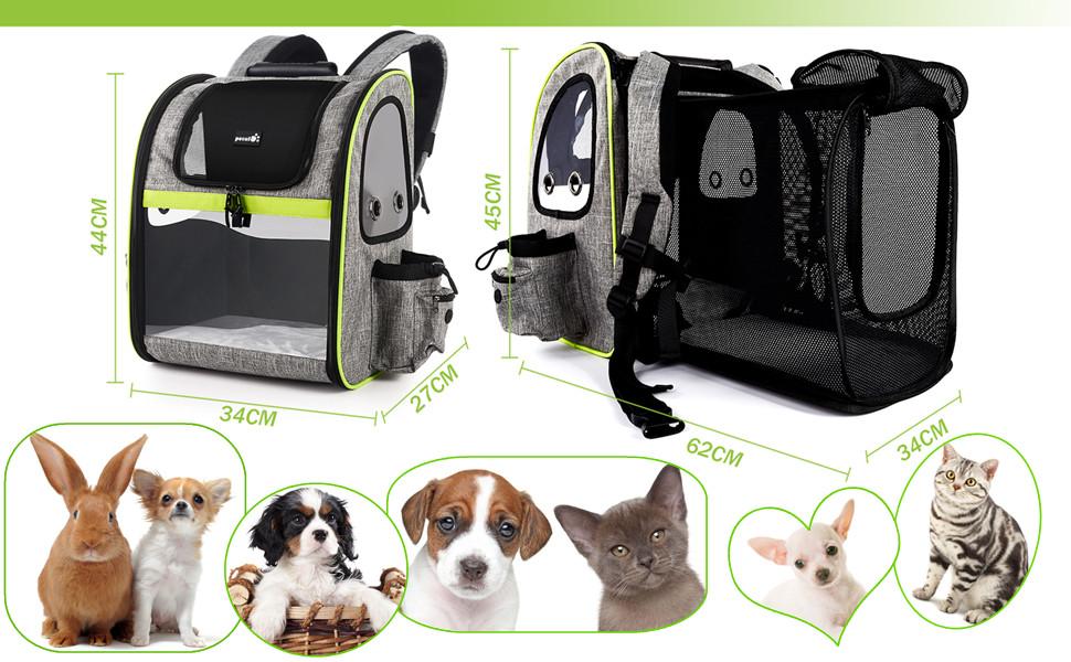 Sac /à dos en peluche pour animal de compagnie sac d/école sac /à dos pour tout-petits chien