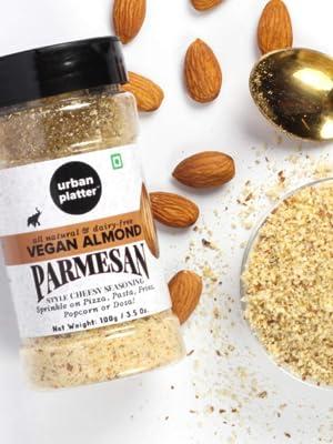 Urban Platter Vegan Almond Parmesan Cheese, 100g