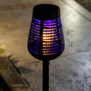 zapping insect killer torch night