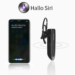 Das Bluetooth-Headset unterstützt den Sprachassistenten