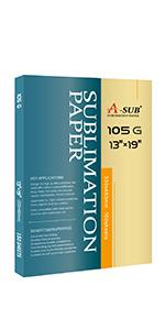 ASUB sublimation paper 13x19