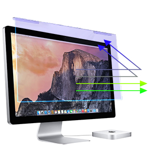 blue light screen protector blue light filter for computer monitor  anti glare screen protector