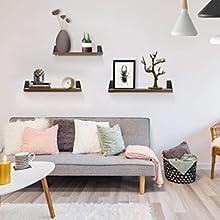 mensola a muro per soggiorno