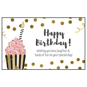 birthday card for her gift box