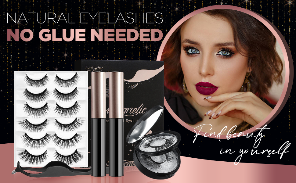Magnetic Eyeliner and Magnetic Eyelash Kit