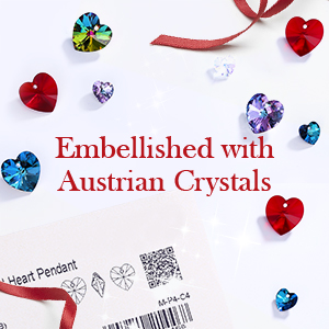 swarovski crystalsChristmas Jewelry Gifts for Mom  christmas necklaces for women